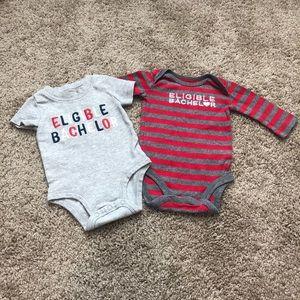 Carter's Baby Boy Onesie Bundle